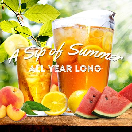 Serve Up a Sip of Summer All Year Long™ with Farmer Brothers Iced Teas