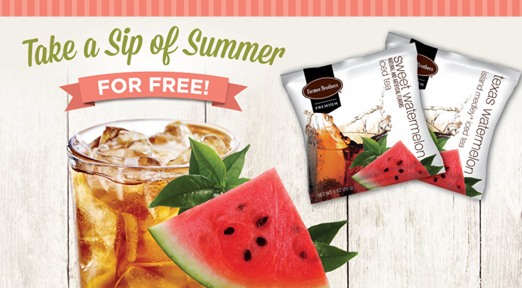 Take a Sip of Summer — Free