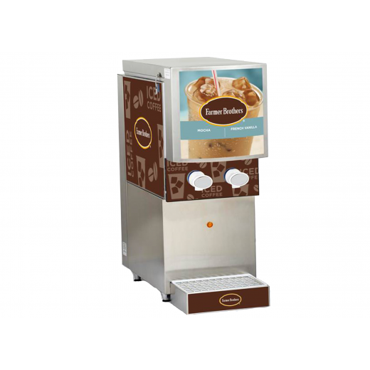 French Vanilla Bag-In-Box Dispenser