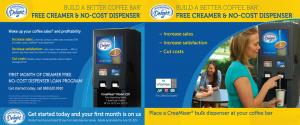 International Delight Creamer Dispenser Promotion