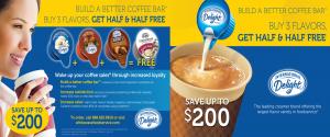 International Delight Creamer Promotion
