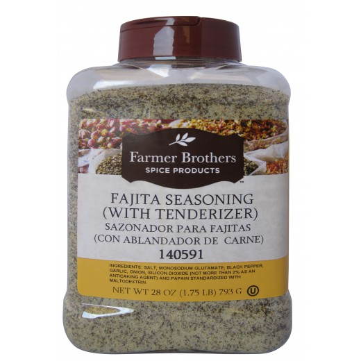 Fajita Seasoning (With Tenderizer)