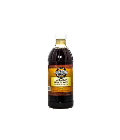 Rum Flavored Imitation Extract