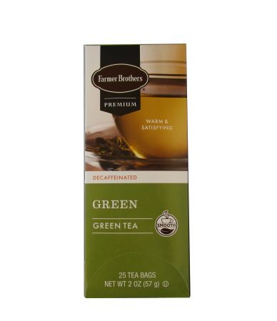 Farmer Brothers Premium Green Tea - Decaffeinated