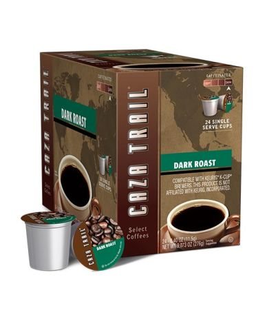 Caza Trail™ Dark Roast Single Pod Coffee