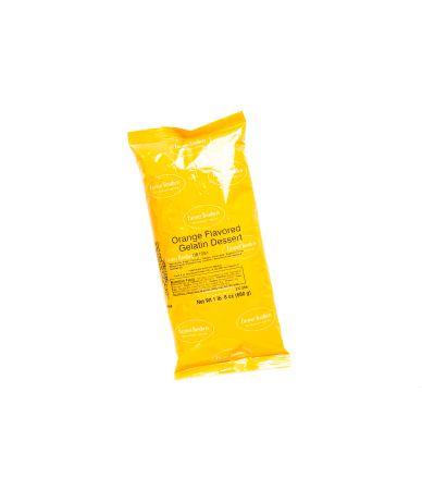Orange-Flavored Gelatin Mix