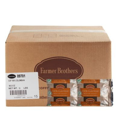 Farmer Brothers 100% Colombian RFA Medium Roast Coffee