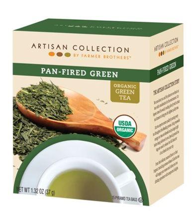 Artisan Collection Organic Pan Fired Green Tea